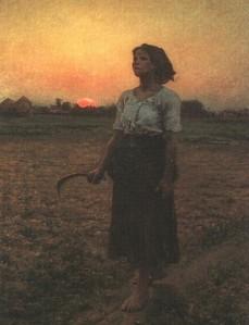 El Canto de la Alondra Jules Breton