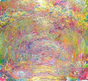 Monet-path-under-the-rose-trellises-1924