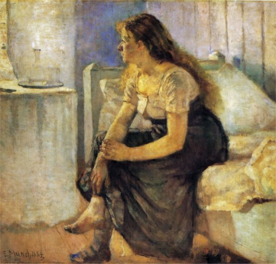 Edvard Munch - The Morning 1884