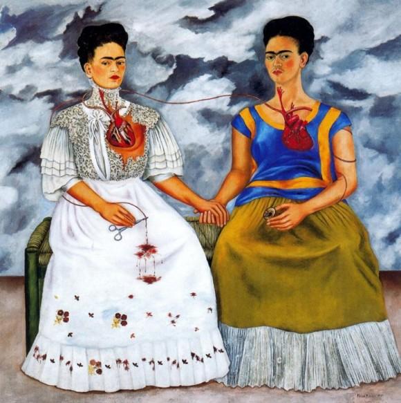 Las dos Fridas-Frida Kahlo