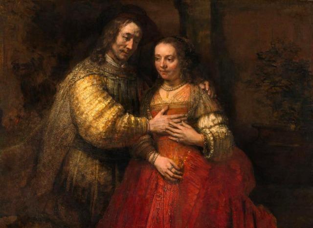 Rembrandt-La novia judia 1666