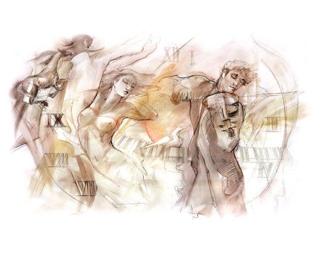 Timeless drawing- Lena Sotskova