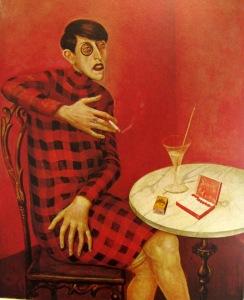 otto dix, portrait de la journaliste sylvia von harden 1926