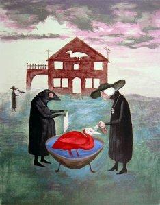 Leonora Carrington, el baño del pájaro (1978)