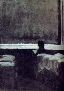 solitary-figure-in-a-theater Edward Hopper