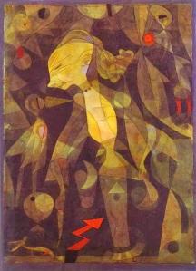 La aventura de una muchacha. Paul Klee