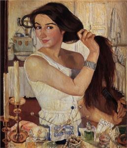 at-the-dressing-table-di-zinaida-serebriakova-1909