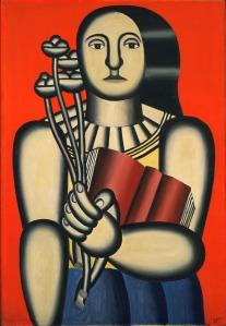 fernand-leger-woman-whith-a book