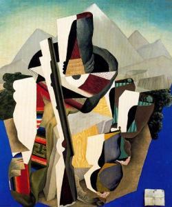 Paisaje Zapatista Diego Rivera