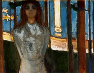 The Voice/Summer Nigth. Edvard Munch